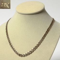 Women's gold necklace chain Bismarck 10 grams
