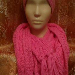 Комплект або окремо. Шапка і шарф.