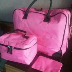 Travel bags Yves Rocher 3 in 1
