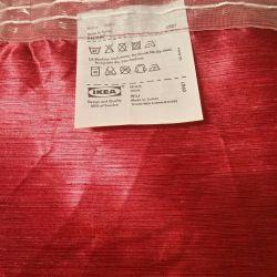 IKEA Curtains are crimson 1,5 m. × 2