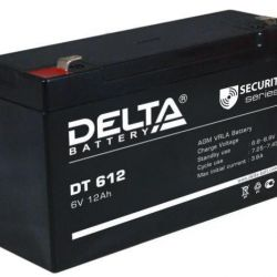 Baterie de tracțiune DELTA DT 612 6V 12 Ah