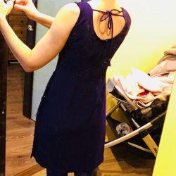 Платье-комплект с вышивкой праздник