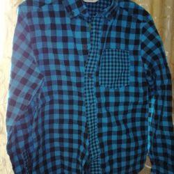 Новая рубашка р-р 140