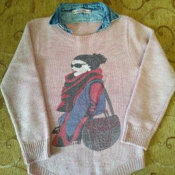 Jumper for girls from 9-11 years