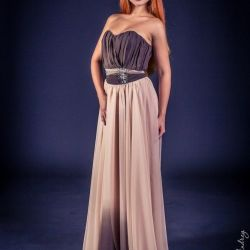 Evening designer dress