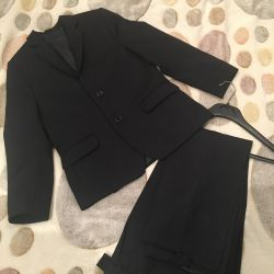 Suit for the boy 116, 134 cm
