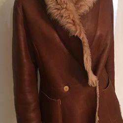 Italian sheepskin coat Ermanno Scervino