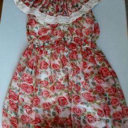 chiffon rochie