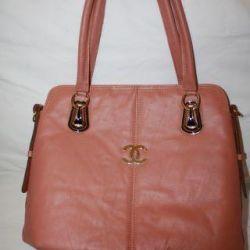 Женская кожаная новая сумка коко шанель cocochanel