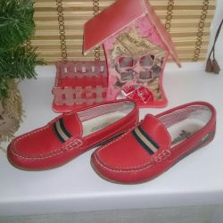 Moccasins for girls