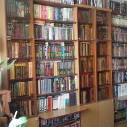 Geniş kitap koleksiyonu (~ 1000 kitap)