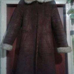 Doğal bir koyun derisi ceket satacağım