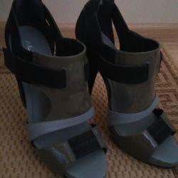 Sandale aldo, fabricate în Brazilia, r. 40