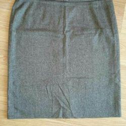 Γυναικεία φούστα 3. Μετρήσεις στην περιγραφή.