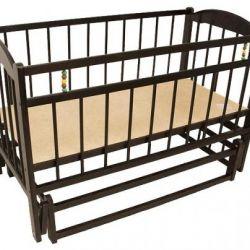 Детская кроватка заюшка
