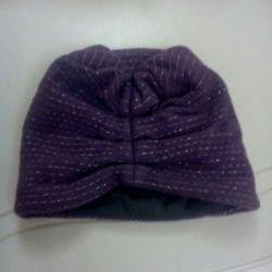 Новая двойная шапочка