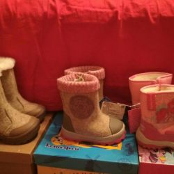 Boots for winter new girl