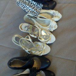 Batilloni, cizme, sandale, 35-36 r