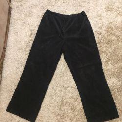 Παντελόνια γυναικών, παντελόνια σε ελαστική ζώνη, 54-56. Νεότερο