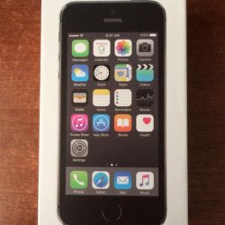 New iPhone 5s (16gb), space gray
