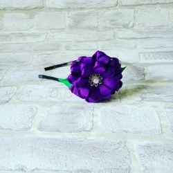 σφενδόνη για κορίτσια, στεφάνι, λουλούδια