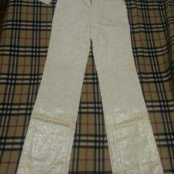 Erkek kot pantolon Gianfranco Ferre bayan pantolon