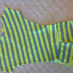 Beach suit shorts + T-shirt