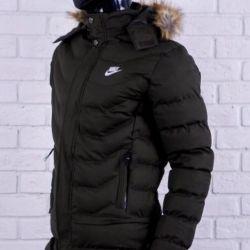 Пуховик Nike Dark Green