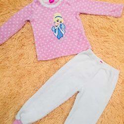 2-3 years fleece pajamas