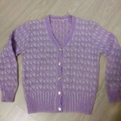 Blouse knitted