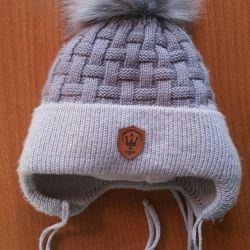Warm baby hat