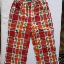 Children's wool trousers