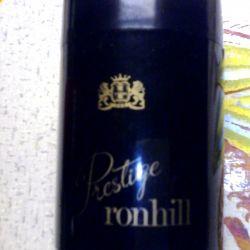 Ronhill prestige cigarette box. 80th year.