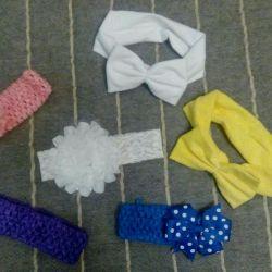 Заколки- резинки для девочки