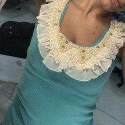 Μπλουζάκι με κολάρο