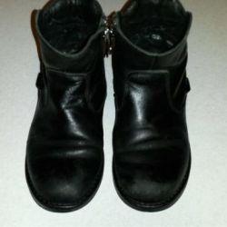 Boots piele demi-sezon