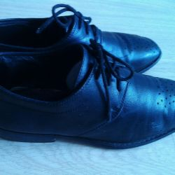 School shoes 37 times, leather