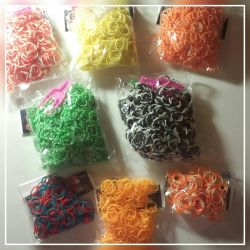 Rubber bands for weaving