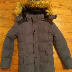 Jacket winter on the boy