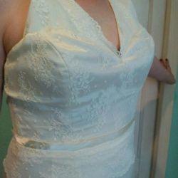 rochie de mireasa alvina valenta. Culoarea fildeșului.