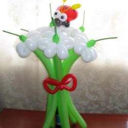 Bouquet for the holiday with a cow))