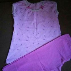 Pajamas + gift