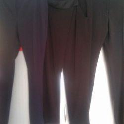 Νέα παντελόνια, μπλε, γκρι και μαύρα σελ.46-48
