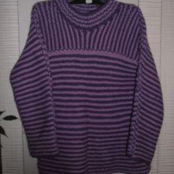 Пуловер 100 шерсть