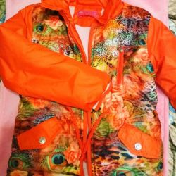 Jacket cold spring-autumn, 128-134
