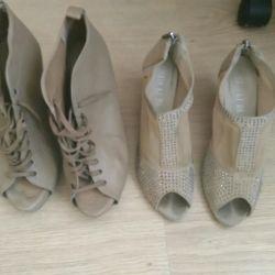 Jin li Da παπούτσια, μπότες αστράγαλο stradivarius Ισπανία