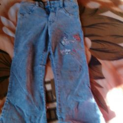 Trousers for girls height 116