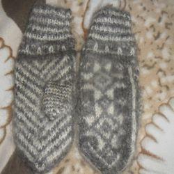 рукавиці в'язані