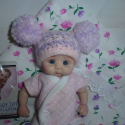 The author's doll from polymer Brea by Joni Inlow