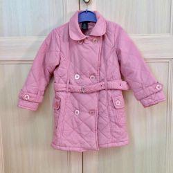 Coat for girls Calvin Klein, r. 104